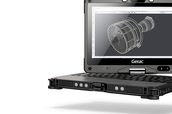 Getac Notebook V110 Fully Rugged Convertible